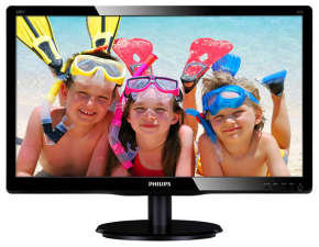 "Philips 200V4QSBR/00 20"" LED DVI HD Monitor"
