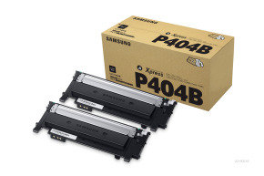 Samsung CLT-P404B Black Toner Cartridge - 2 Pack