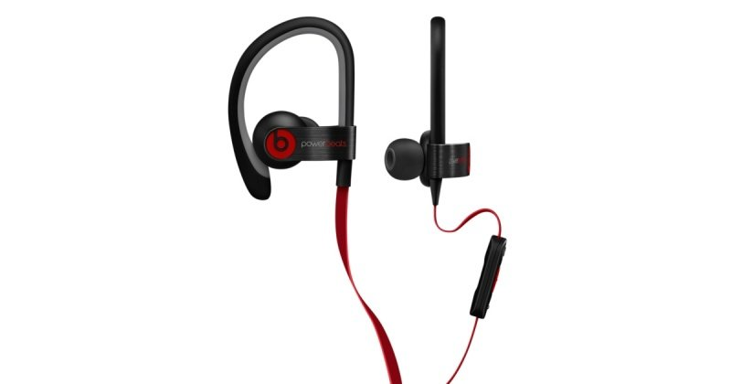 Beats Powerbeats2 - Earphones With Mic - In-ear - Over-the-ear Mount - Noise Isolating - Black - For 12.9-inch Ipad Pro, 9.7-inch Ipad Pro, Ipad (3rd Generation), Ipad 1, 2, Ipad Air, Ipad Air 2, Ipad Mini, Ipad Mini 2, 3, 4, Ipad With Retina Display, Iph