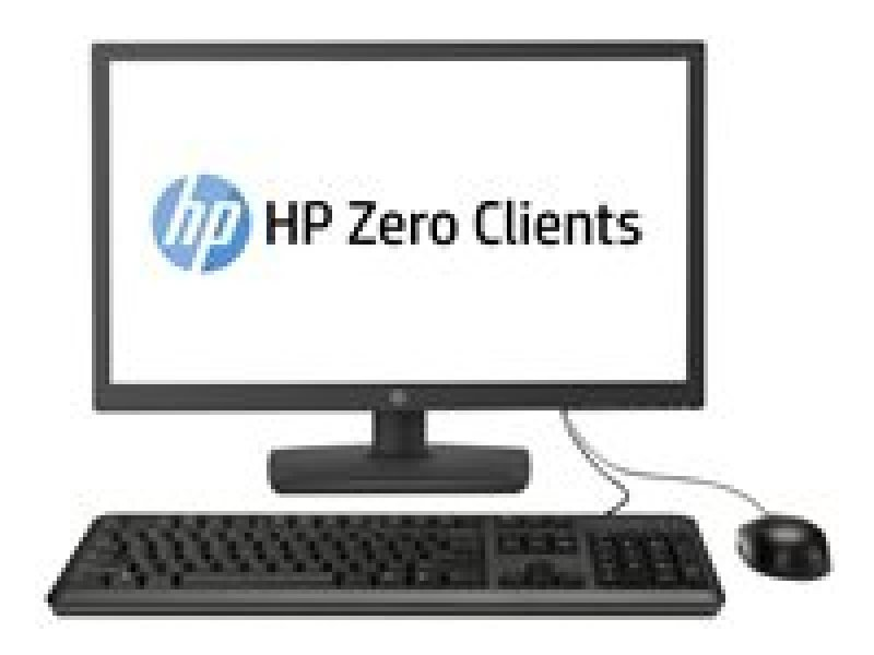 "HP Zero Client t310 Tera2321 512MB RAM 256MB Flash HDD LED 23.6"" Monitor Zero Client"