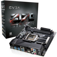 EVGA Z170 Stinger Socket 1151 HDMI DisplayPort 8 Channel HD Audio mITX Motherboard