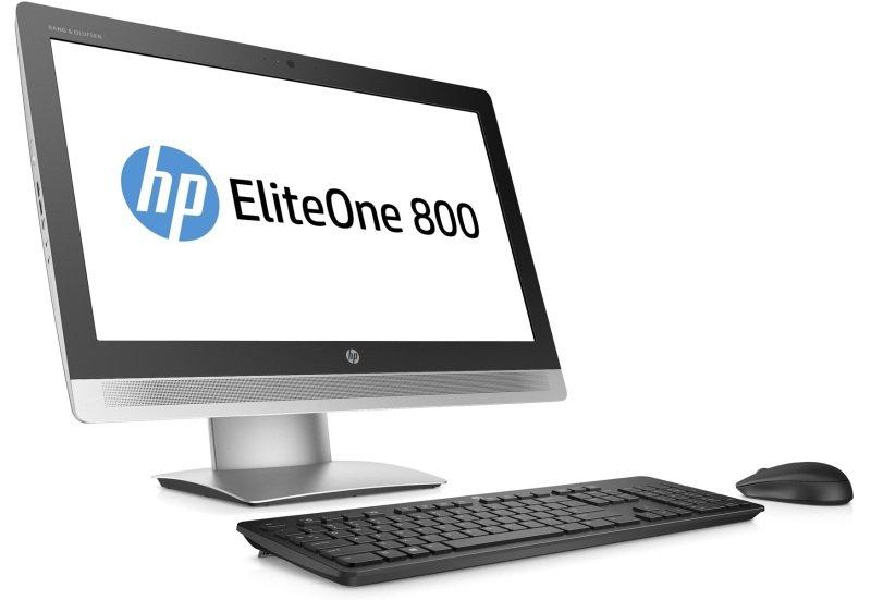 """HP EliteOne 800 G2 AIO Desktop Intel Core i56500 3.2GHz 4GB DDR4 500GB SSHD 23"""" FHD Touch DVDROM WIFI Bluetooth Webcam Windows 10 Pro 64bit"""