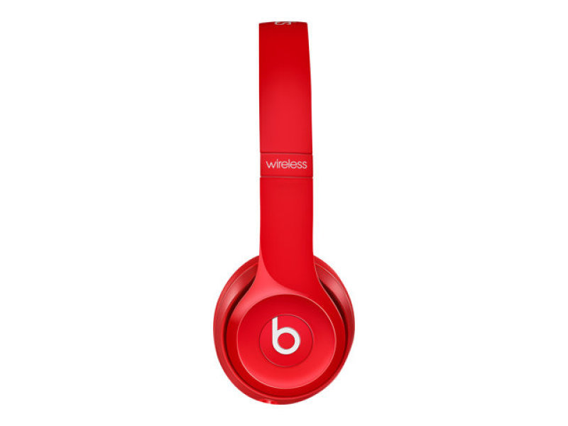 Image of Beats Solo2 Wireless Headphones - Red