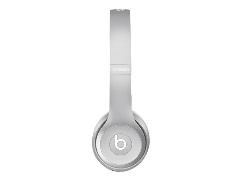 Image of Beats By Dr. Dre Solo2 - Headphones With Mic - On-ear - Wireless - Bluetooth - Silver - For 12.9-inch Ipad Pro, 9.7-inch Ipad Pro, Ipad (3rd Generation), Ipad 1, 2, Ipad Air, Ipad Air 2, Ipad Mini, Ipad Mini 2, 3, 4, Ipad With Retina Display, Iphone 3gs,