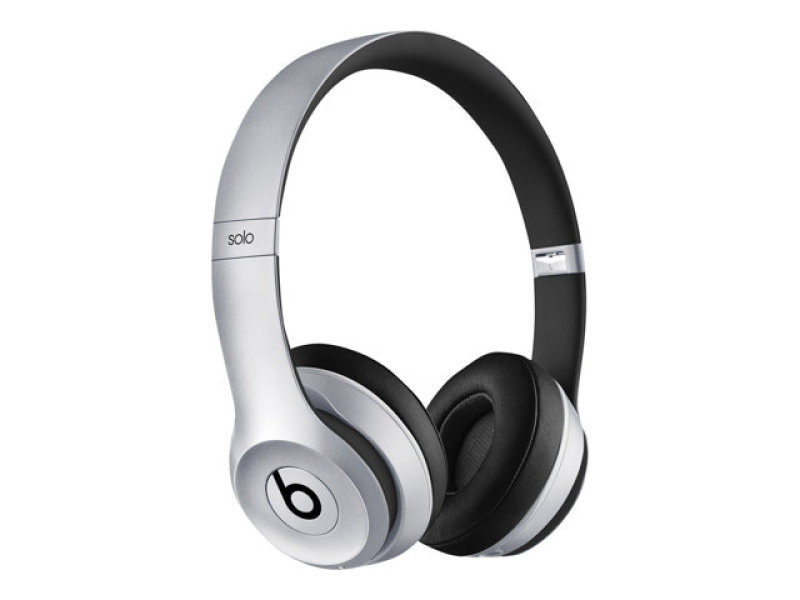 Image of Beats By Dr. Dre Solo2 - Headphones With Mic - On-ear - Wireless - Bluetooth - Space Grey - For 12.9-inch Ipad Pro, 9.7-inch Ipad Pro, Ipad (3rd Generation), Ipad 1, 2, Ipad Air, Ipad Air 2, Ipad Mini, Ipad Mini 2, 3, 4, Ipad With Retina Display, Iphone 3