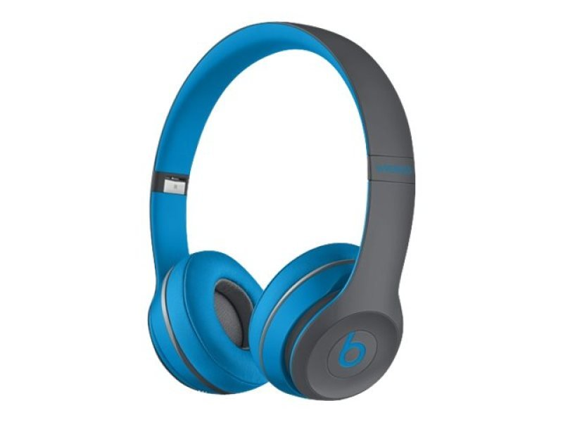 Image of Beats Solo2 Wireless - Headset - On-ear - Wireless - Bluetooth - Blue - For Ipad (3rd Generation), Ipad 1, 2, Ipad Air, Ipad Air 2, Ipad Mini, Ipad Mini 2, 3, 4, Ipad Pro, Ipad With Retina Display, Iphone 3g, 3gs, 4, 4s, 5, 5c, 5s, 6, 6 Plus, 6s, 6s Plus,