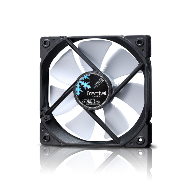 Fractal Design Dynamic Series Gp-12 (120mm) Computer Case Fan (white)