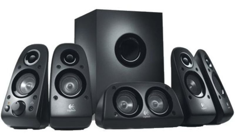 Logitech Z506 5.1 Surround Sound Speakers  75W RMS