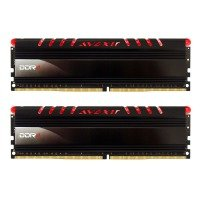 Avexir Core Red LED 8GB (2x4GB) DDR4 2400MHz Desktop Memory