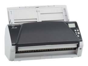 80ppm / 160ipm duplex A4L ADF document scanner. Includes PaperStream IP, PaperStream Capture, Scanner Central administrator software and 12 months Advanced Exchange (2 day) warranty.Available for download:  2D Barcode Module for PaperStream, ScanSnap Mana