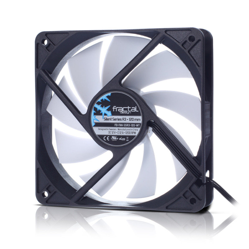 Fractal Design Silent Series R3 120mm Case Fan