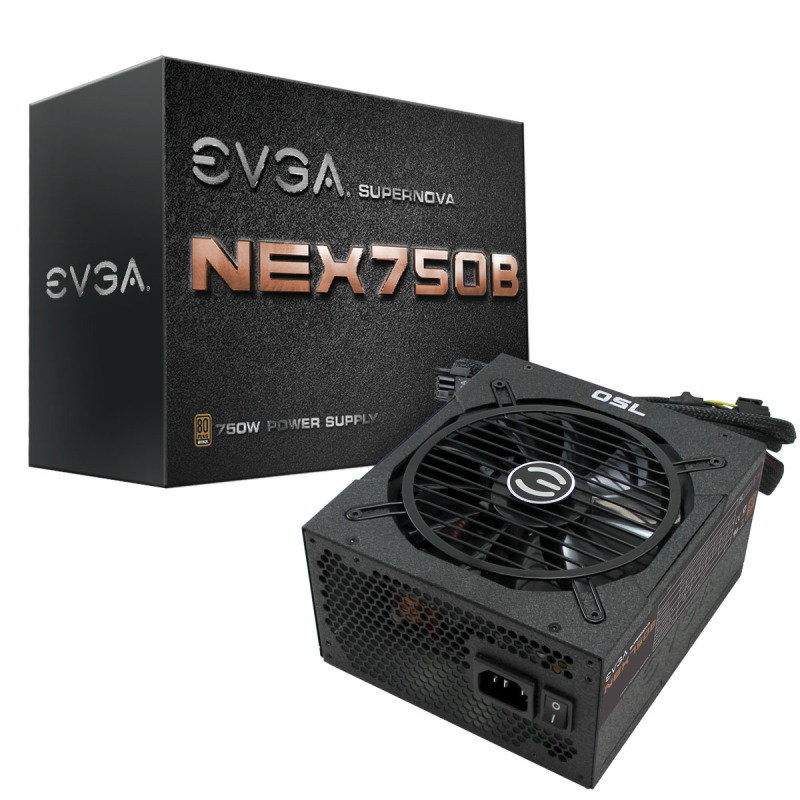 EVGA Super Nova NEX750B 750W Bronze Semi Modular Power Supply
