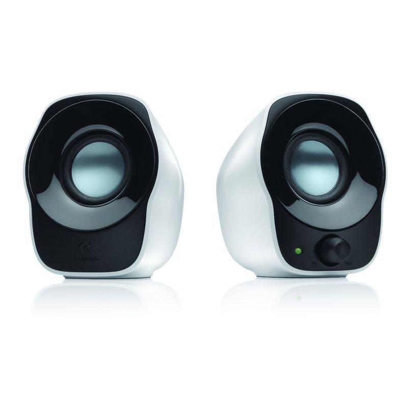 EXDISPLAY Logitech Z120 White USB Powered Speakers