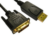 DisplayPort to DVI Cable 1m