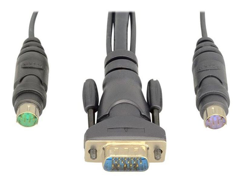 Belkin OmniView Dual-Port PS/2 KVM Cable 1.8m