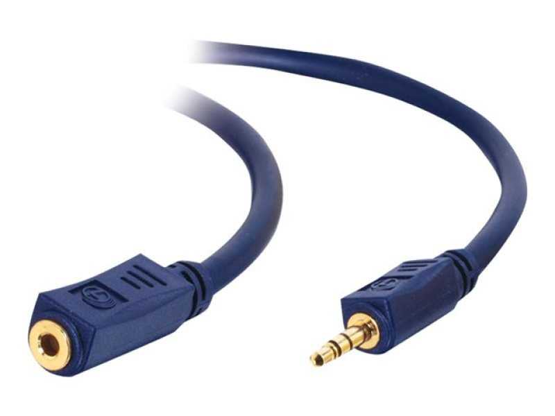 C2G, Velocity 3.5mm Stereo Audio Extension Cable M/F, 15m