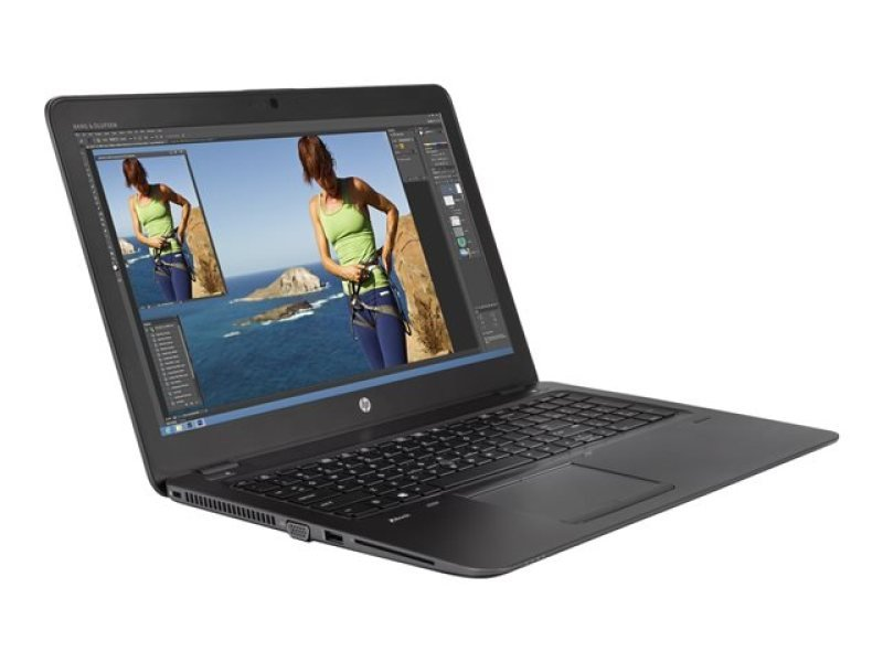 HP ZBook 15u G3 8GB Intel Core i7 (6th Gen) 6500U  2.5 GHz 256GB SSD 15.6&quot Mobile Workstation