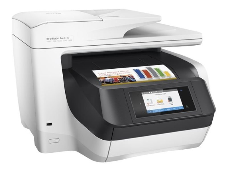 HP Officejet Pro 8720 All-in-one Multifunction Wireless Inkjet Printer