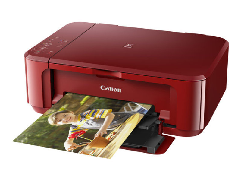Canon Pixma MG3650 Wireless Multi-Function Inkjet Printer - Red