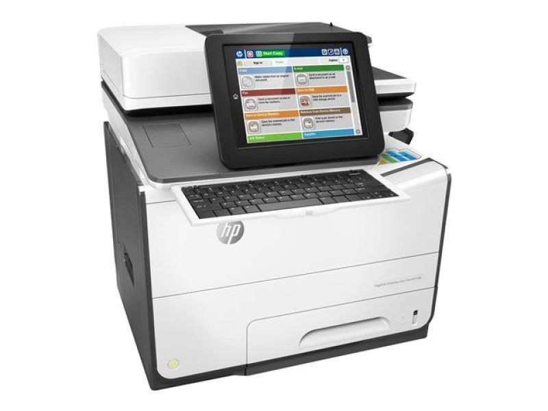 HP PageWide 586z Enterprise Colour Flow Multi-Function Inkjet Printer