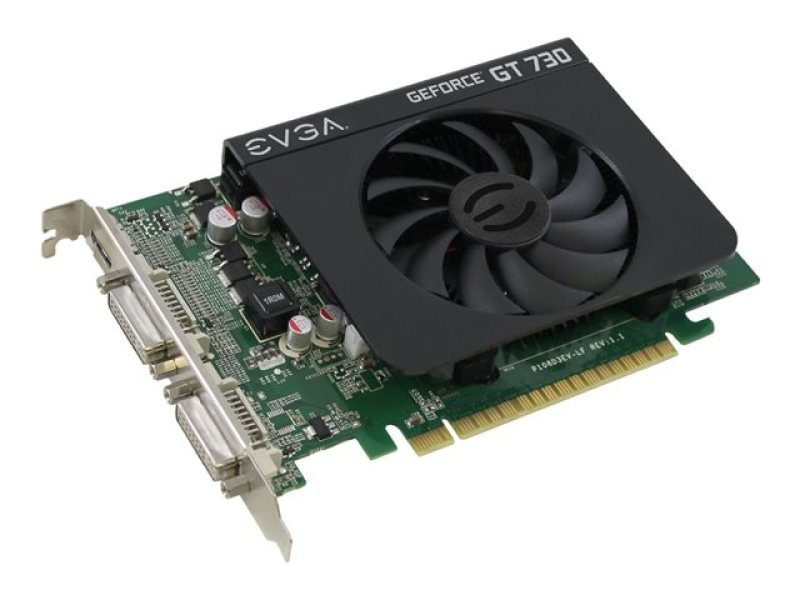 EVGA GeForce GT 730 4GB DDR3 Dual-Link DVI-I  Mini HDMI PCI-E Graphics Card