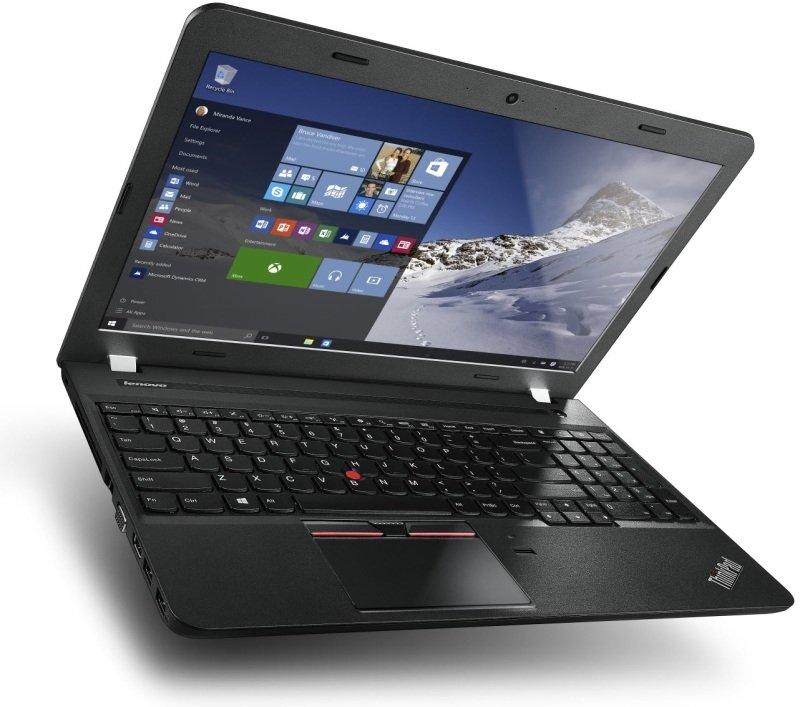 "Image of Lenovo ThinkPad E560 Laptop, Intel Core i7-6500U 2.5GHz, 8GB RAM, 1TB HDD, 15.6"" LED, DVDRW, AMD R7, WIFI, Camera, Bluetooth, Windows 7 / 10 Pro 64bit"
