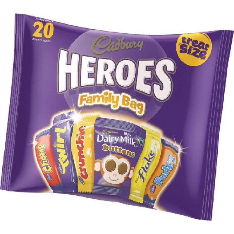 Image of Cadburys Heroes Variety Bag