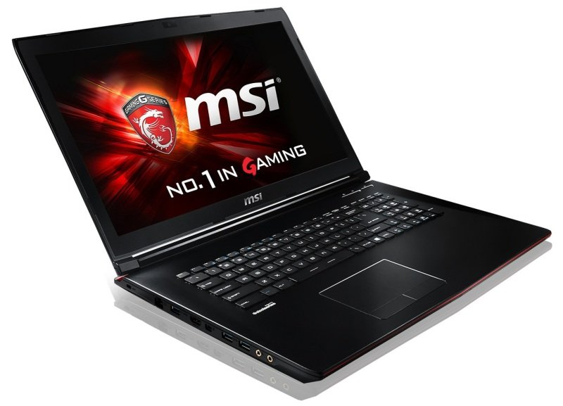 """MSI GP72 6QF(Leopard Pro)626UK Gaming Laptop Skylake i76700HQ 2.6GHz 8GB DDR4 RAM 1TB HDD 128GB SSD 17.3"""" FHD DVDRW nVidia Geforce GTX 960M 2GB WIFI Windows 10 64bit"""