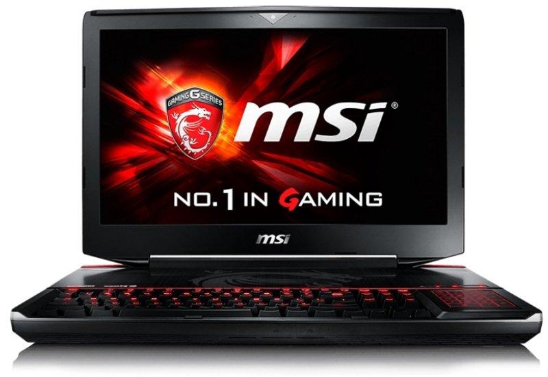"""Image of MSI GT80S 6QE(Titan SLI)-082UK Gaming Laptop, Skylake i7-6820HK 2.7GHz, 32GB DDR4 RAM, 1TB HDD, 512GB SSD, 18.4"""" FHD, Blu-Ray, nVidia Geforce GTX 980M 8GB, WIFI, Windows 10 64bit"""