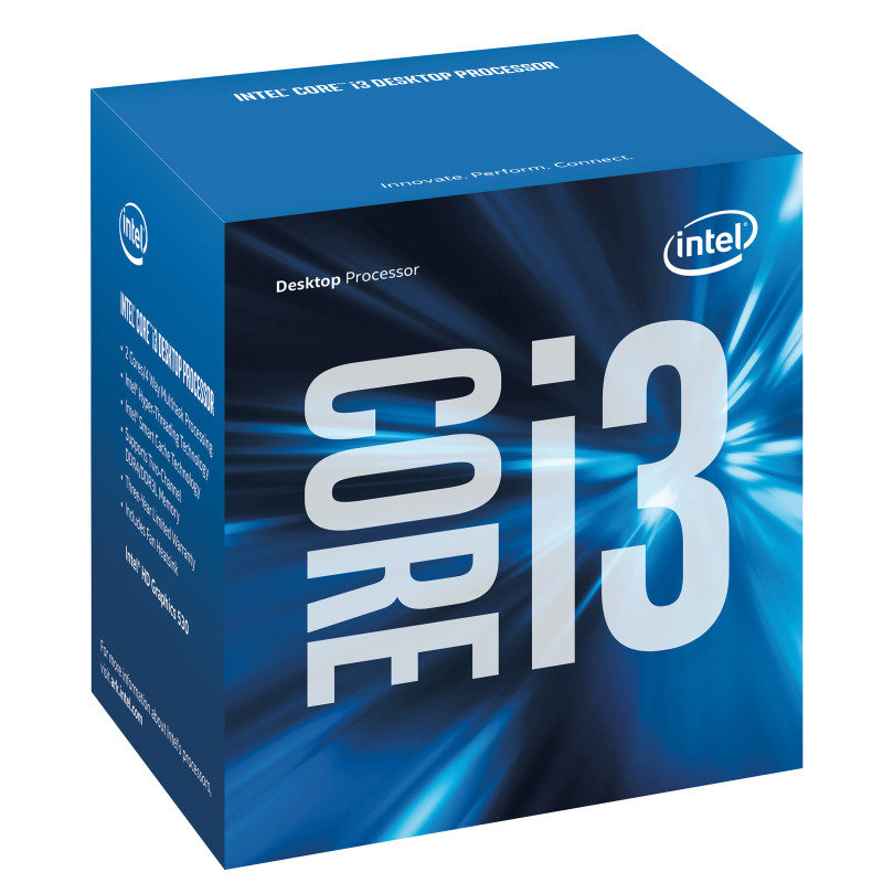 Intel Intel Core i3-6100T Socket 1151 3.2GHz 3MB Cache Retail Boxed Processor