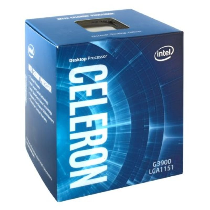 Intel Celeron Dual-Core G3900 2.8GHz Socket 1151 2MB Cache Retail Boxed Processor