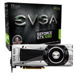 EVGA GeForce GTX 1080 Founders Edition 8GB GDDR5X DVI-D HDMI 3x DisplayPort PCI-E Graphics Card