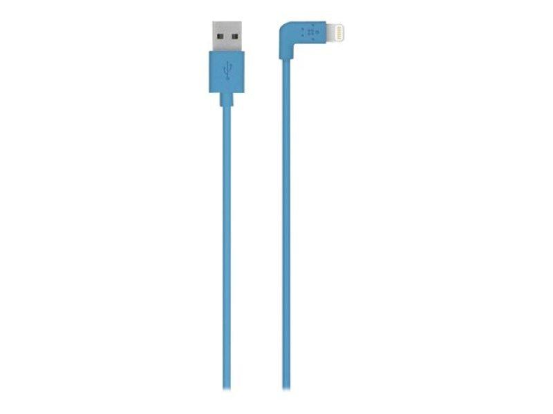 Belkin Flat Lightening to USB 1.2M Cable - Blue