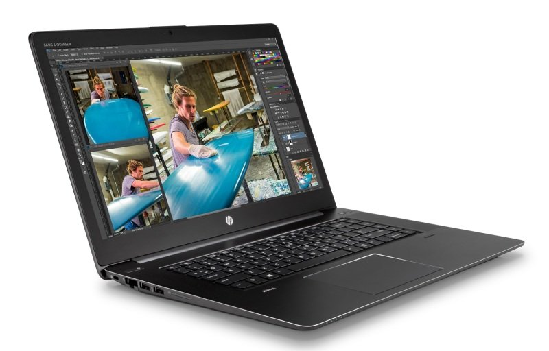 HP ZBook Studio G3 16GB Intel Core i7 (6th Gen) 6820HQ  2.7 GHz 512GB SSD 15.6&quot Mobile Workstation