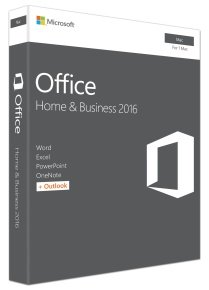 Microsoft Office Home & Business 2016 For Mac Medialess