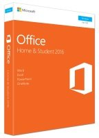 Microsoft Office Home & Student 2016 Medialess
