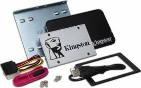 Kingston SSDNow UV400 120GB 2.5inch SATA 3 SSD with Desktop/Notebook upgrade kit