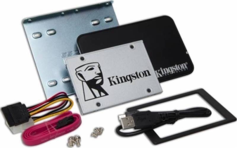 Kingston SSDNow UV400 240GB 2.5 inch SATA III SSD with Desktop/Notebook upgrade kit