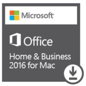 Microsoft Office Home & Business 2016 for Mac - Electronic Software Download