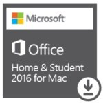 Microsoft Office Home & Student 2016 for Mac - Electronic Software Download