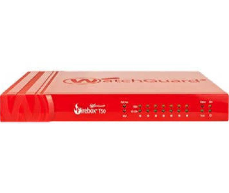 WatchGuard Firebox T50-W and 1-yr Standard Support (WW)