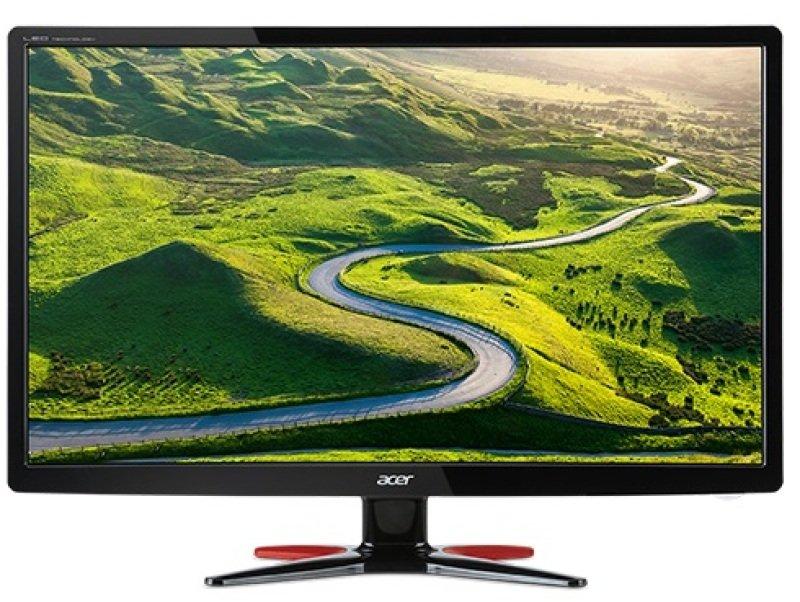 G276HLIbid69cm (27) Wide 169 FHD TN LED 1ms 100M1 ACM 250nits DVI HDMI EUROUK EMEA MPRII Black wRed Stand Acer EcoDisplay