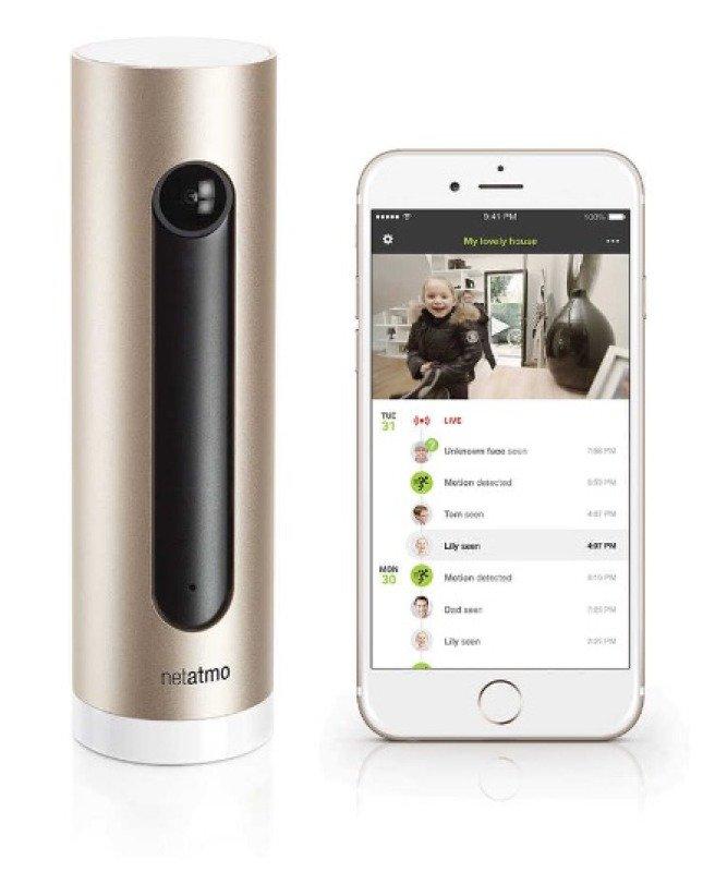 netatmo welcome smart home cam nsc01 uk ebuyer. Black Bedroom Furniture Sets. Home Design Ideas