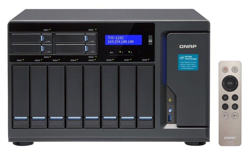 QNAP TVS-1282-i7-32G-450W 12 Bay Desktop NAS Enclosure