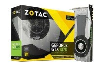 Zotac GeForce GTX 1070 Founders Edition 8GB GDDR5 DVI HDMI 3 x DisplayPort PCI-E Graphics Card