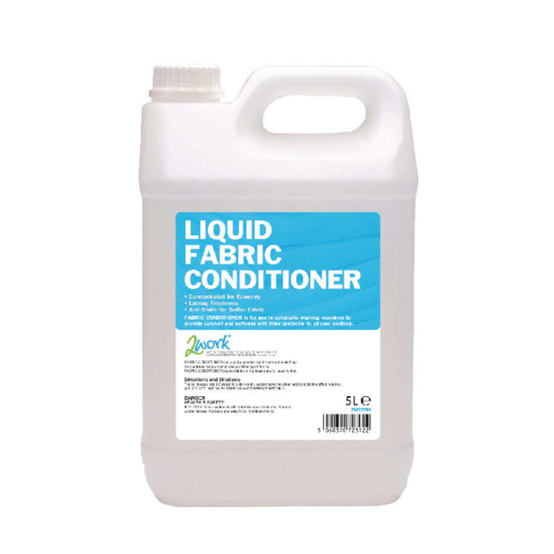 2Work Fabric Conditioner Auto Dosing 5 Litre