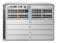 HPE 5412R 92GT PoE+ / 4SFP+ (No PSU) v3 zl2 92 ports Managed Switch