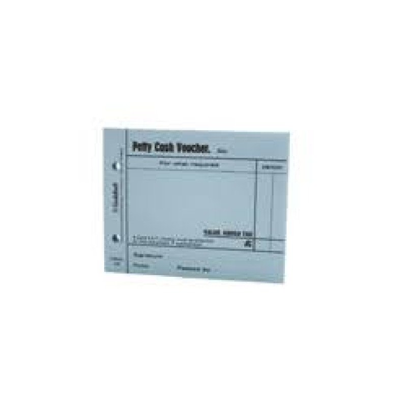 Guildhall Petty Cash Voucher Pad 100 Leaves Blue (Pack of 5)