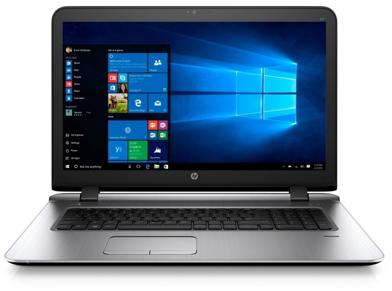 "HP ProBook 470 G3 Laptop Intel Core i76500U 2.5GHz 8GB RAM 256GB SSD 17.3"" LED DVDRW AMD R7 WIFI Webcam Bluetooth Windows 7  10 Pro 64bit"