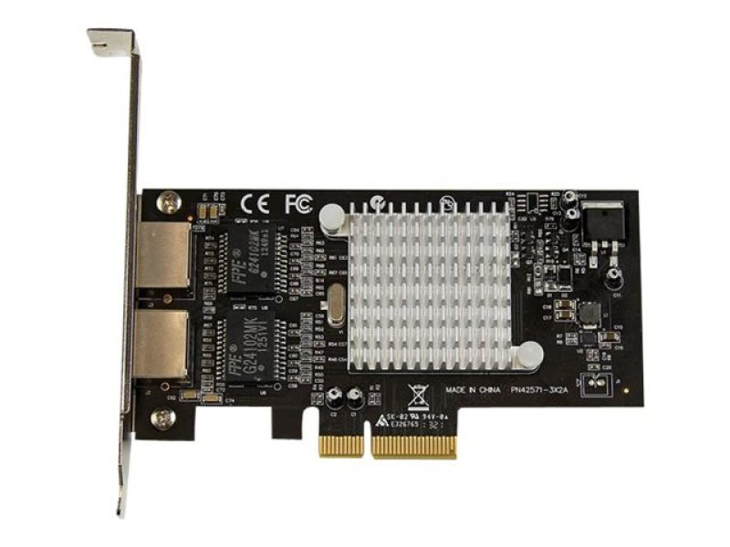Startech.com Dual Port PCI Express (PCIe x4) Gigabit Ethernet Server Adapter Network Card - Intel i350 NIC